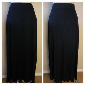 Style & Co Black Maxi